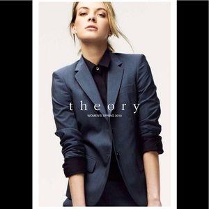 Theory women's black blazer size 4